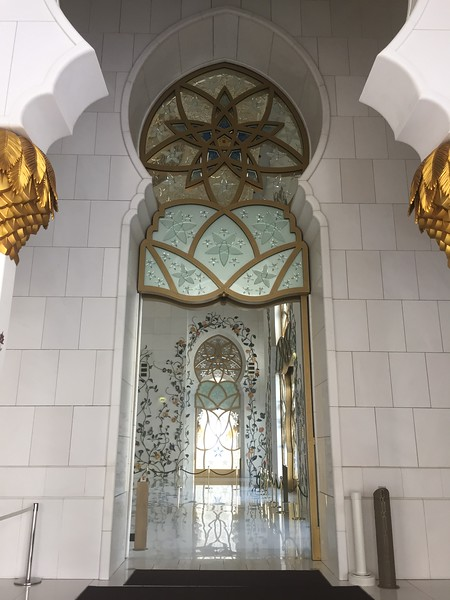 Seikh Zayed Mosque in Abu Dhabi - Bridget St. Clair