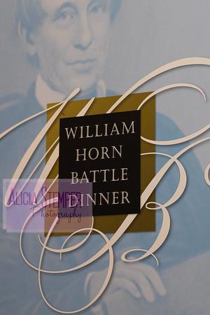 William Horn Battle Dinner 2016