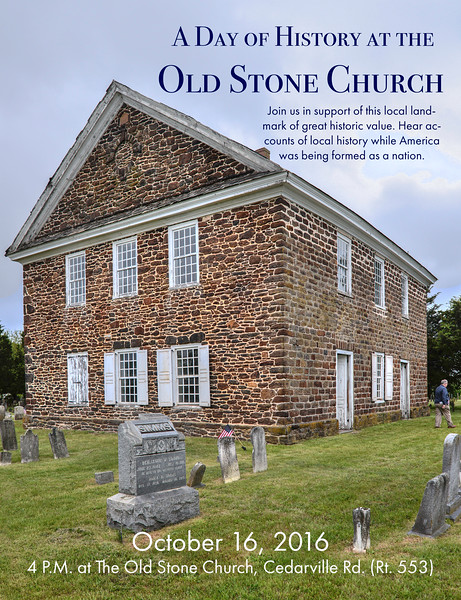 A Day of History at the Old Stone Church