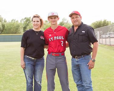 SPH Baseball Senior Night 4-16-19