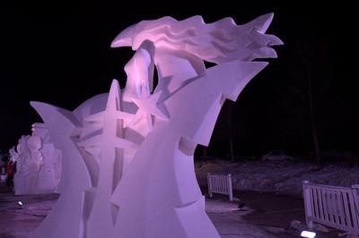 Snow Sculptures 2014