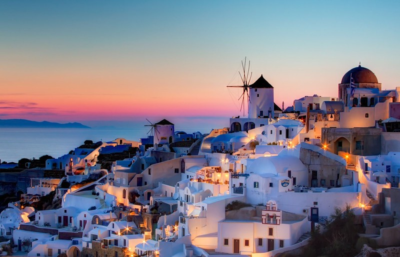 Santorini Greece Romantic Weeding Honeymoon Island Love Sea