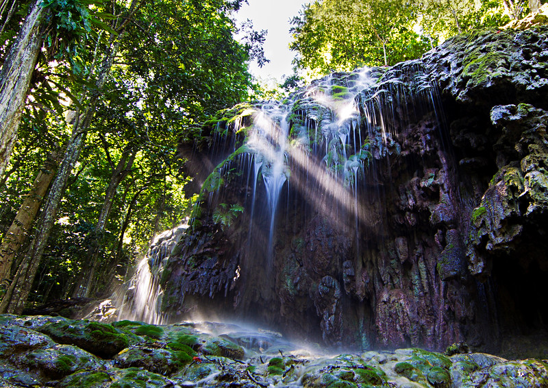 Image Title: Waterfall at No. 2 Dales.  Image No. kee1534bb