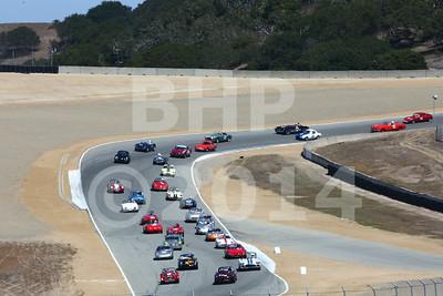 Group 3A 2014 Rolex Monterey Motorsport Reunion Race
