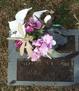 2015 10-31 Granddaddy Bill's Veteran's Marker
