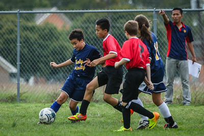 Oct 29 - Soccer - Gold vs St George