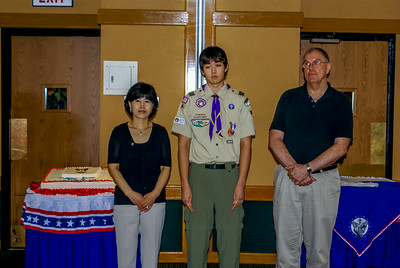 Matthew Fisher Eagle Scout Ceremony