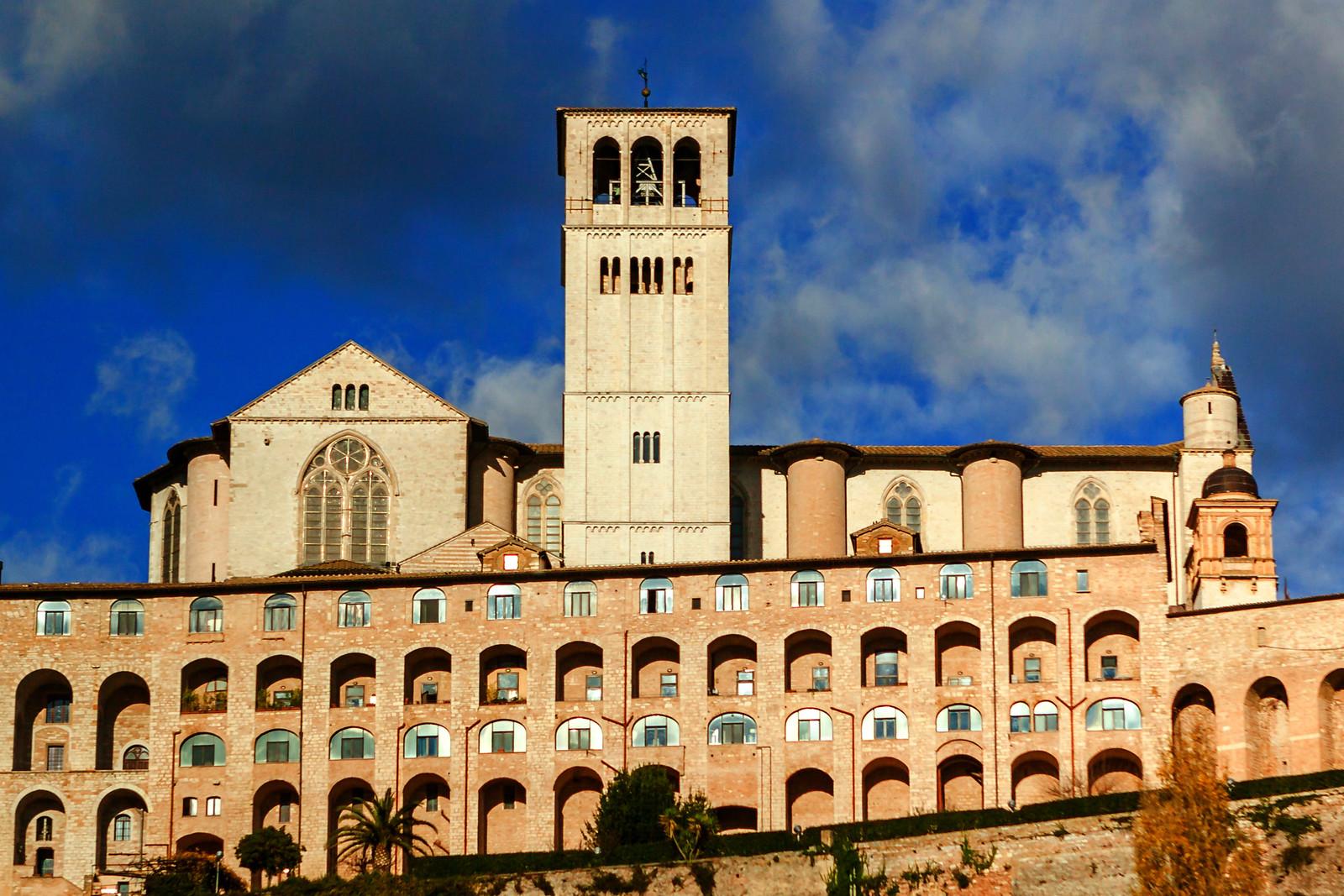 意大利阿西西(Assisi), 千年古城第一眼
