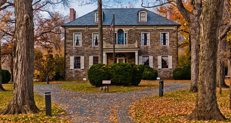 View of Fort Hunter Mansion, Harrisburg, Pennsylvania