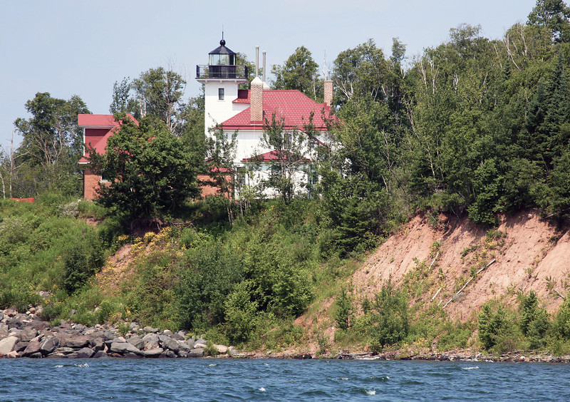 Raspberry Island Lighthouse.