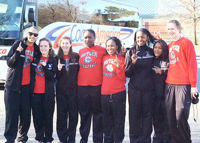 2010/03/13 - BHS Girls Basketball - Sendoff to State Championship Game