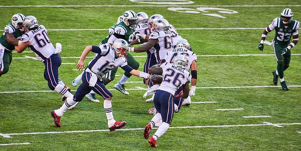 Jets Patriots NFL at MetLife Stadium Nov 2018