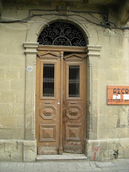 door in Nicosia
