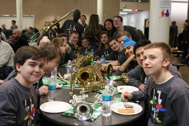 2015 8th grade IH Jazz Band