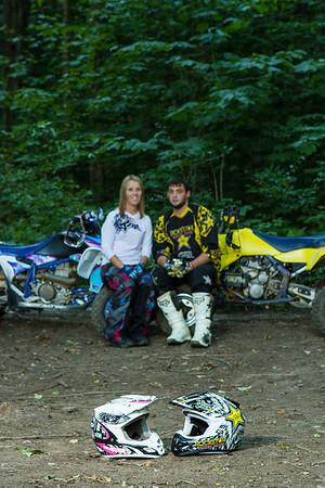 Amber & Randy: 4-wheeler