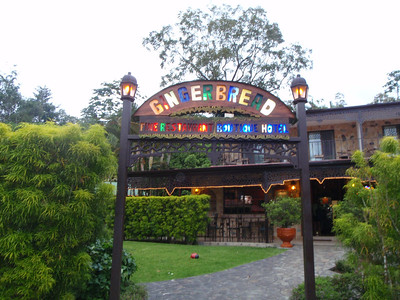 Day 3b - Gingerbread House at Lake Arenal