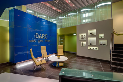 Pratt & Whitney, Arlington TX.  Client:  Interior Design Group, Fort Worth TX.