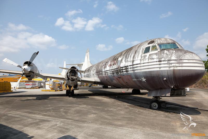 Mex-Jet Cargo | Lockheed L-188A(F) Electra | XA-AEG