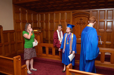 Class of 2009 Graduates Church Service