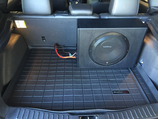 Subwoofer Install and Wiring