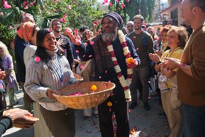 SET UP WEEK  (04.02.-11.02.) - Moojibaba arrives in Rishikesh