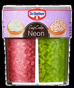 303699Dr.OETKER Cupcake Neon dekooride valik 100g5701073063835
