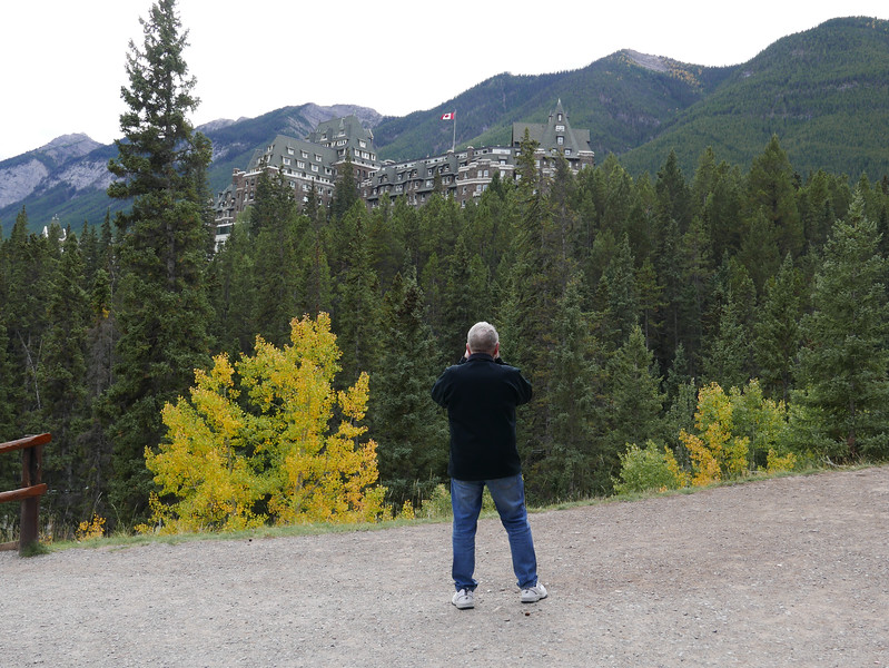 Photographing the Banff Springs Hotel