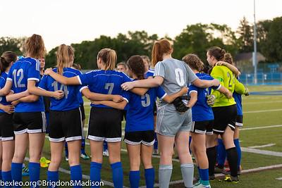 Varsity Soccer Girls vs Westerville Central