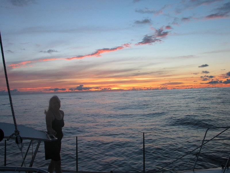 Sailing from Bora Bora to Hawaii - Dorothy