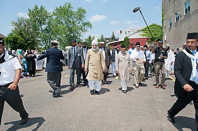 Hazrat Khalifatul-Masih V visits Pittsburgh