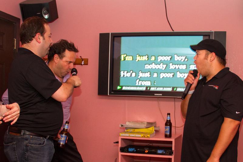 Queen is a must on karaoke night