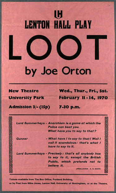 Loot poster