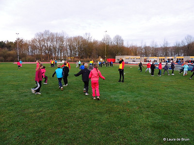 Sponsorloop Pupillen 18 januari 2014