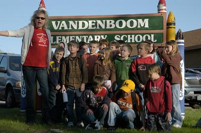 Vandenboom School at Fort Wilkins 2009