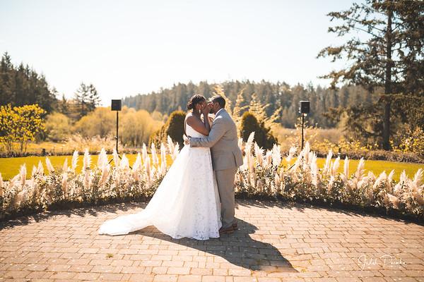 Leah & Thomas - Wedding Ceremony | HCP Gardens, Victoria British Columbia