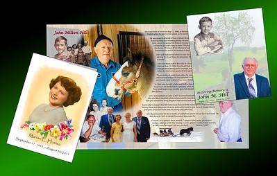 Memorial Biographies (Handouts)