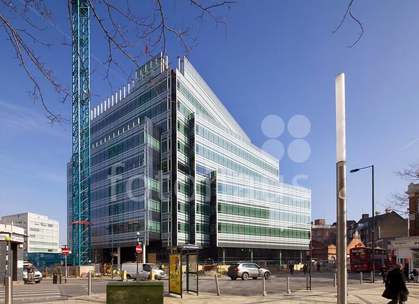 10 Hammersmith Grove, London - progress photos