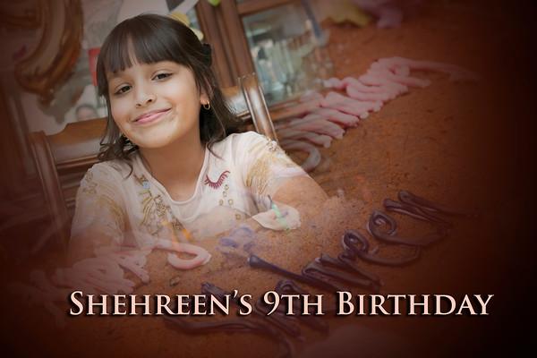 Shehreen's 9th Birthday