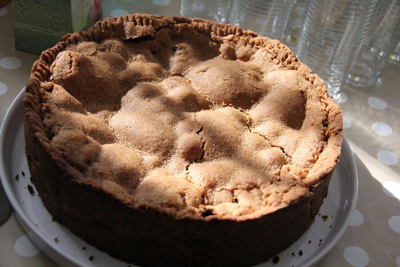 Holland Cooking Class November 30, 2011: Dutch apple pie