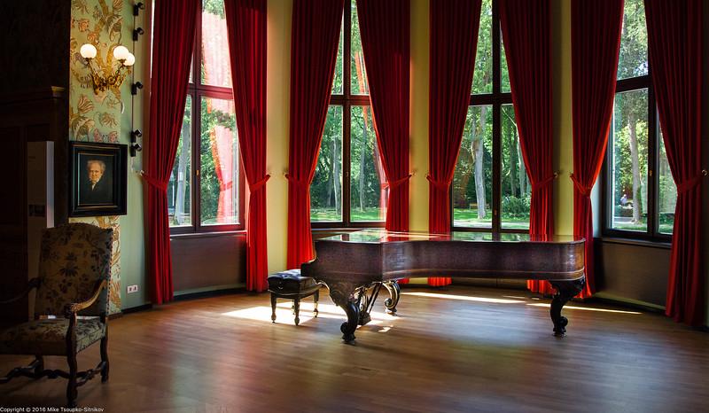 Wagner's Steinway piano