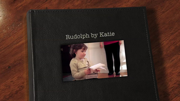 Rudolph by Katie - video