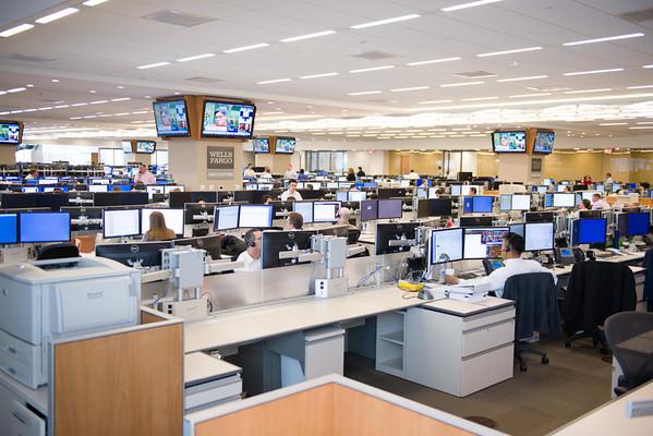Wells Fargo - Trade floor