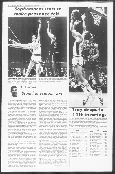 Daily Trojan, Vol. 64, No. 57, January 05, 1972
