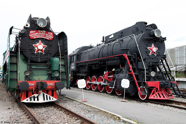 Oktyabrskaya Railway Museum in Saint Petersburg