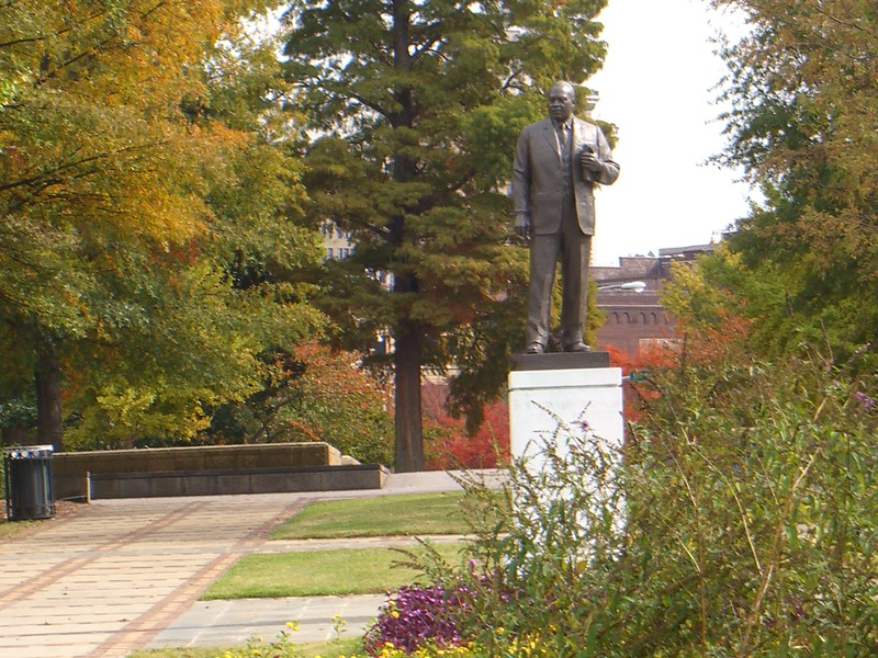 Martin Luther King Statue in Birmingham