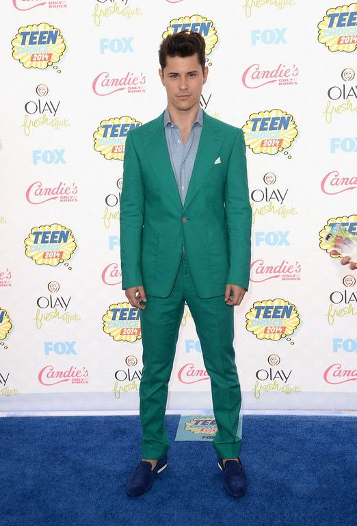 . Actor Michael J. Willett attends FOX\'s 2014 Teen Choice Awards at The Shrine Auditorium on August 10, 2014 in Los Angeles, California.  (Photo by Jason Merritt/Getty Images)