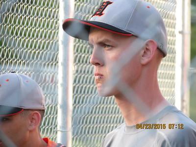 Varsity Baseball vs. Westover on the Road