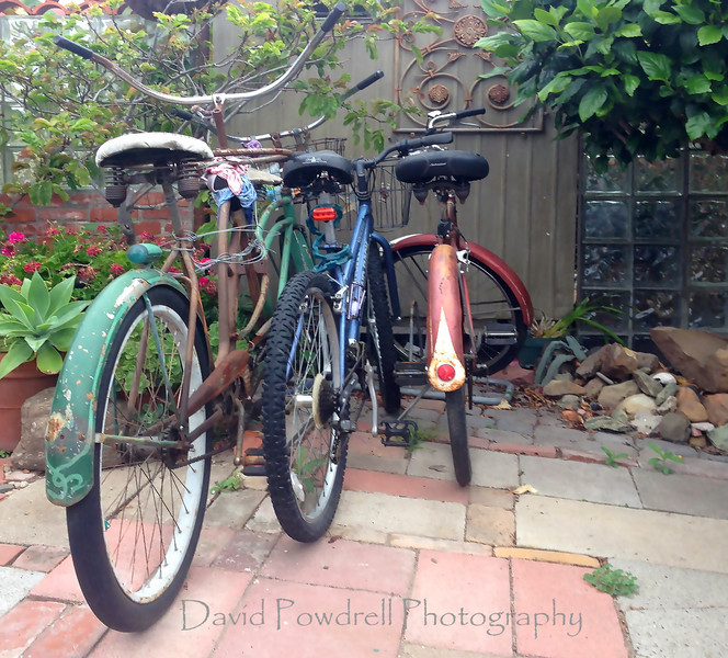 3 bikes in Carpinteria.