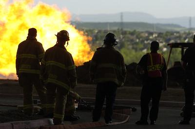Gas Fire 5-23-2005