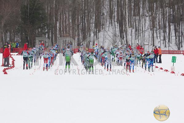 2014 Eastern Cup Women's 10K Mass Start Freestyle